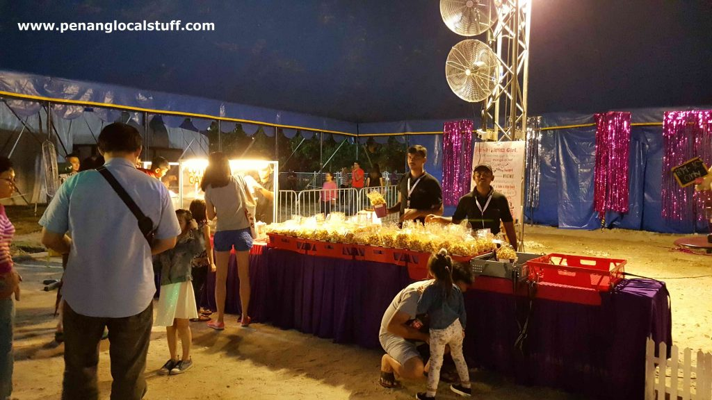 The Moscow Circus Popcorn Stall