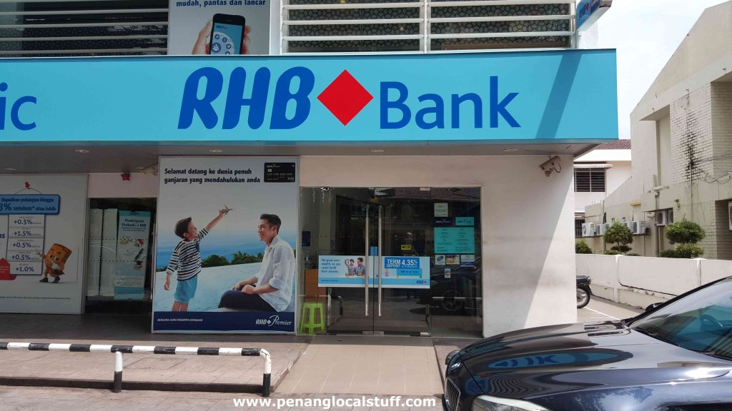 RHB Bank Jalan Burma Branch