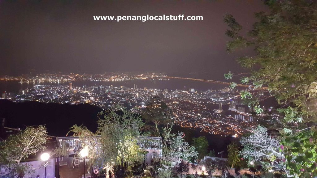 Night View Of Penang Island From Penang Hill