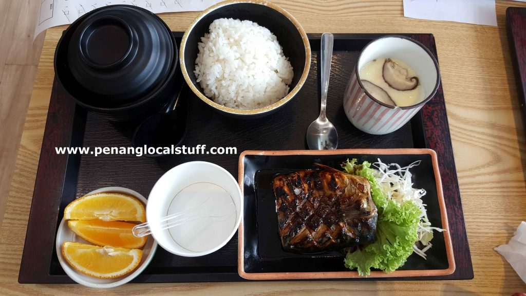 Sushi Wafu Grilled Mackerel Meal