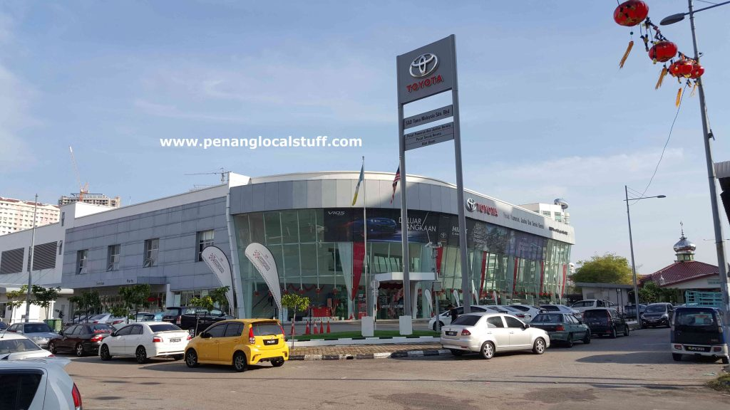 Toyota Sales And Service Centre Sungai Pinang