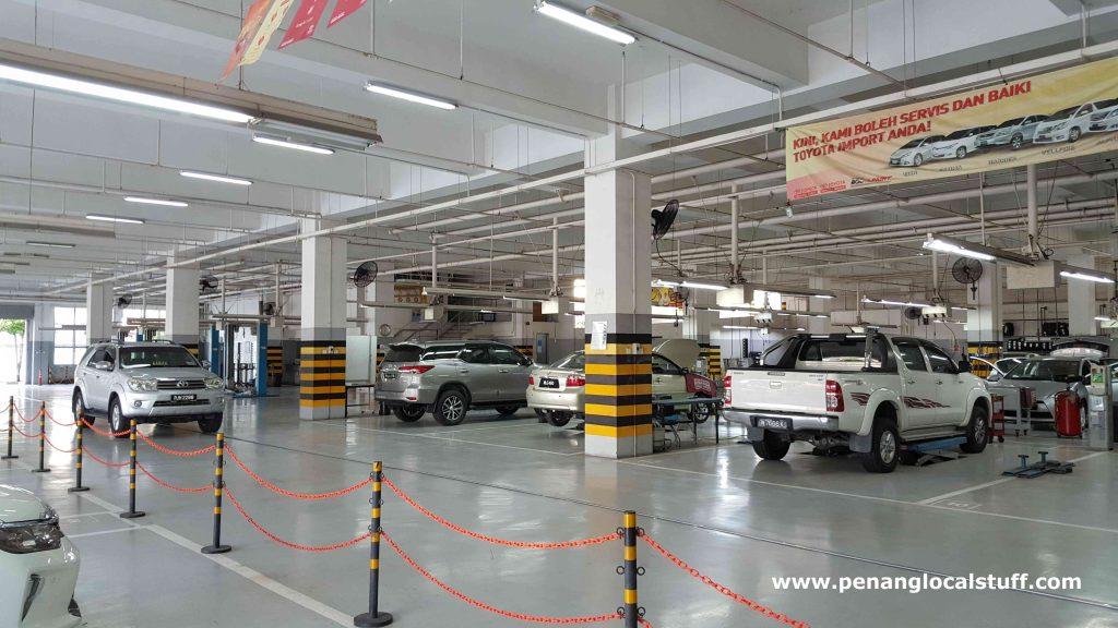 Toyota Sungai Pinang Car Service Area
