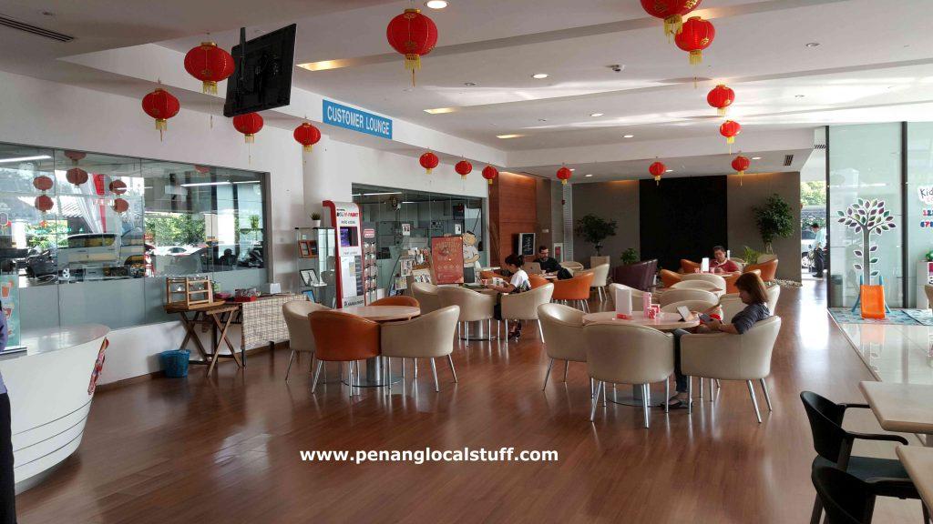 Toyota Sungai Pinang Customer Lounge