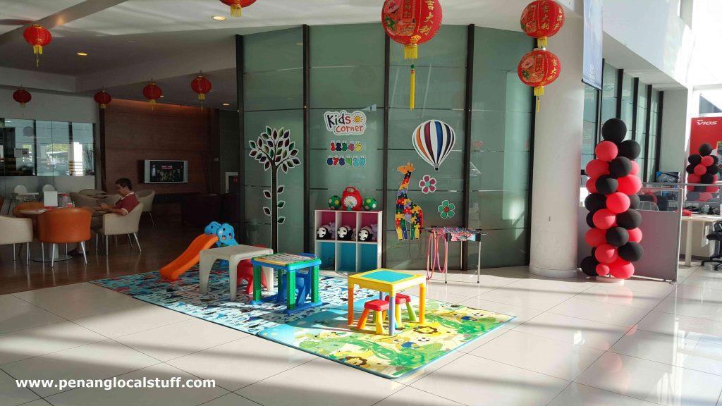 Toyota Sungai Pinang Kids Corner