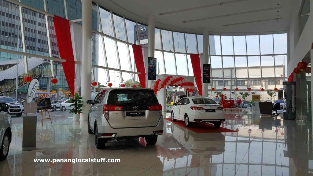 Toyota Sungai Pinang Showroom