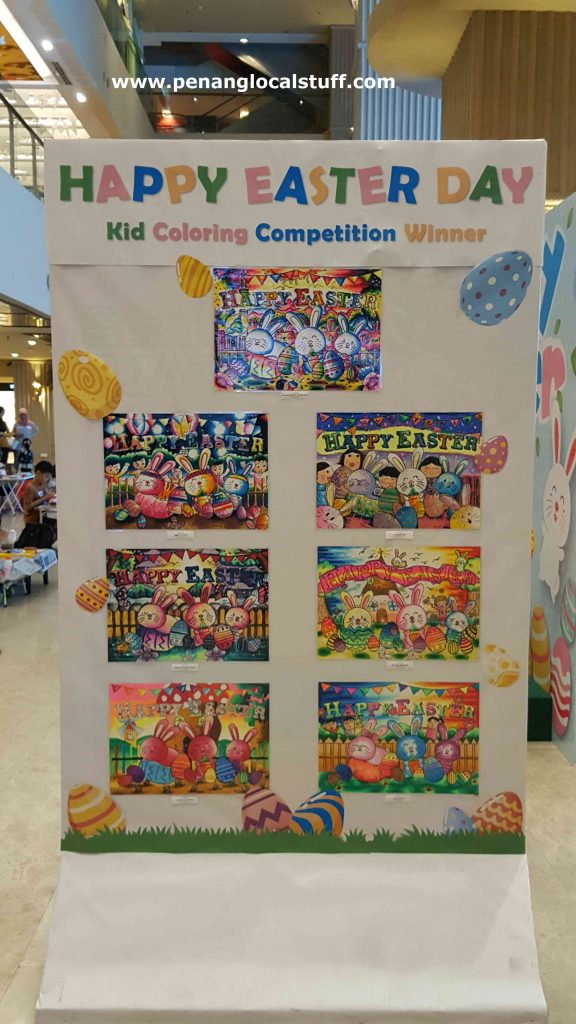 Easter Day Colouring Competition Winners