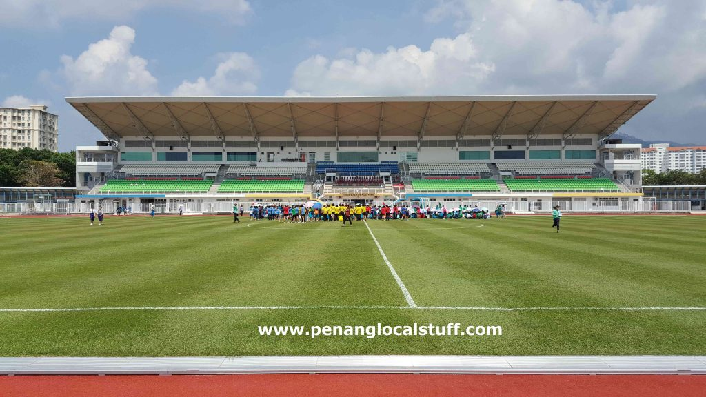 Inside The City Stadium Of Penang