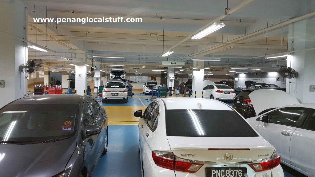 Car Service At Honda Sungai Pinang