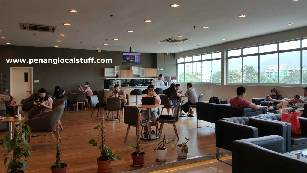 Honda Service Centre Sungai Pinang Customer Lounge