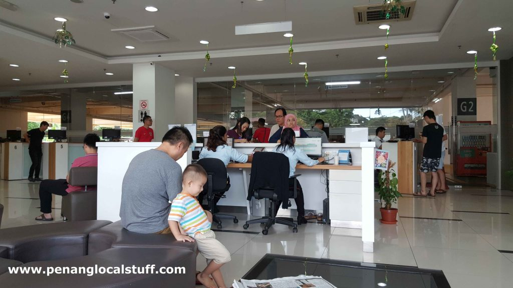 Honda Service Centre Sungai Pinang Reception