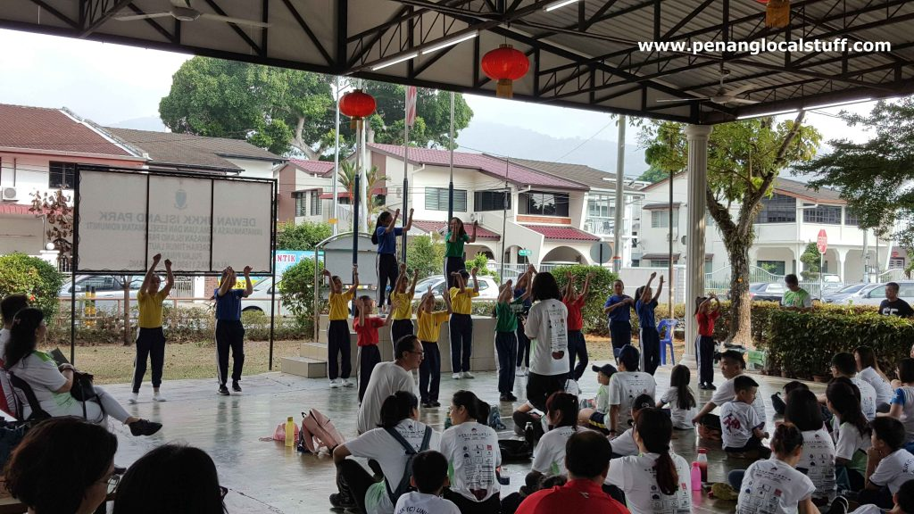Dance Performance By Union Primary School Students