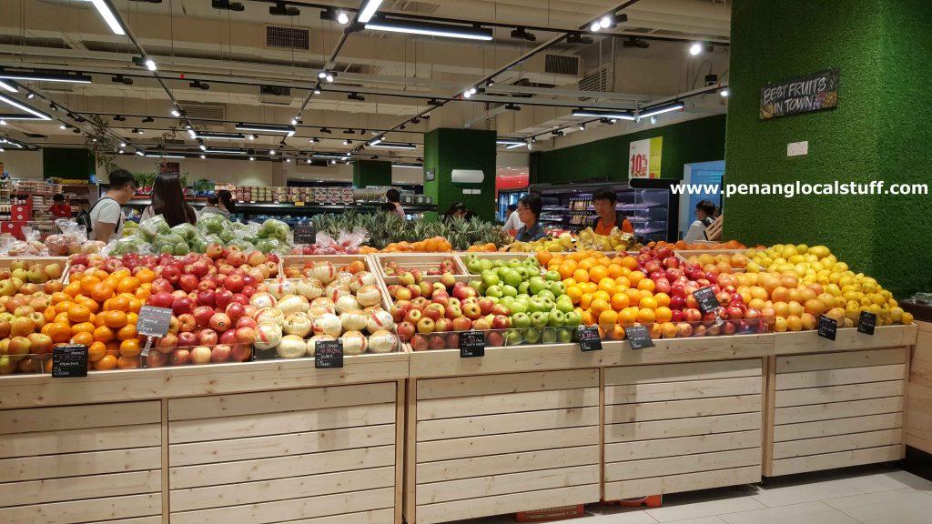 Fruits At Jaya Grocer Gurney Paragon Mall