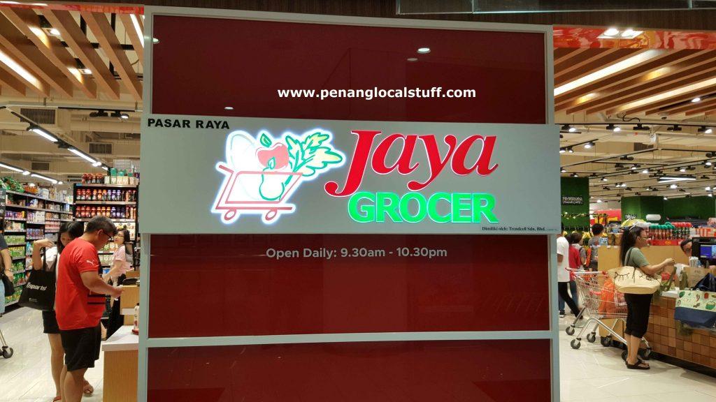 Jaya Grocer Gurney Paragon Mall