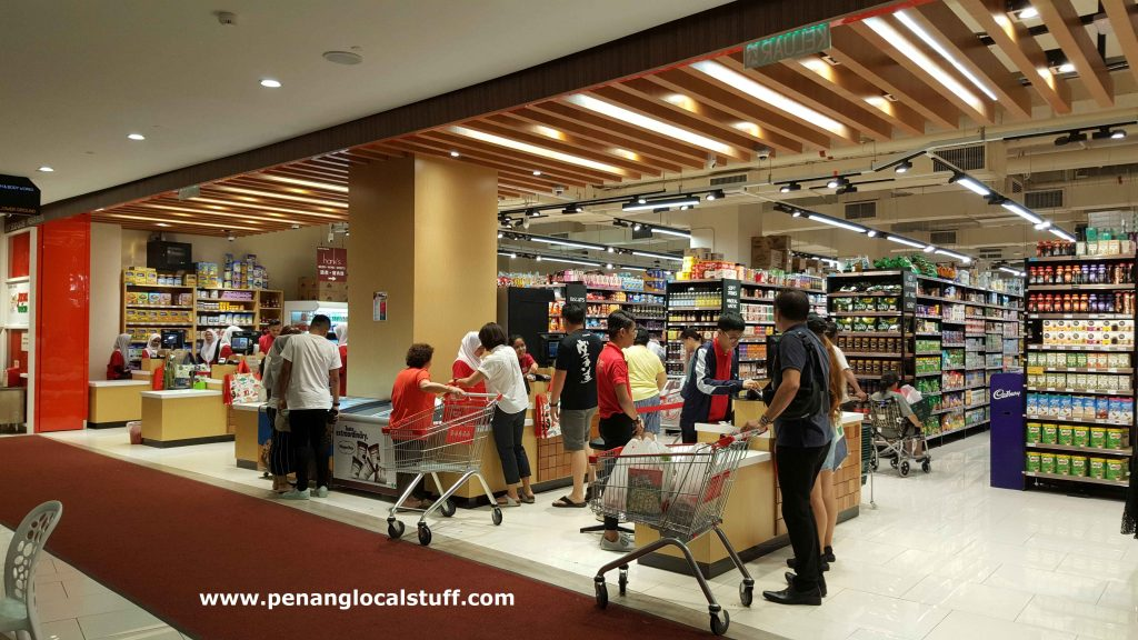 Jaya Grocer Gurney Paragon Mall Checkout Counters