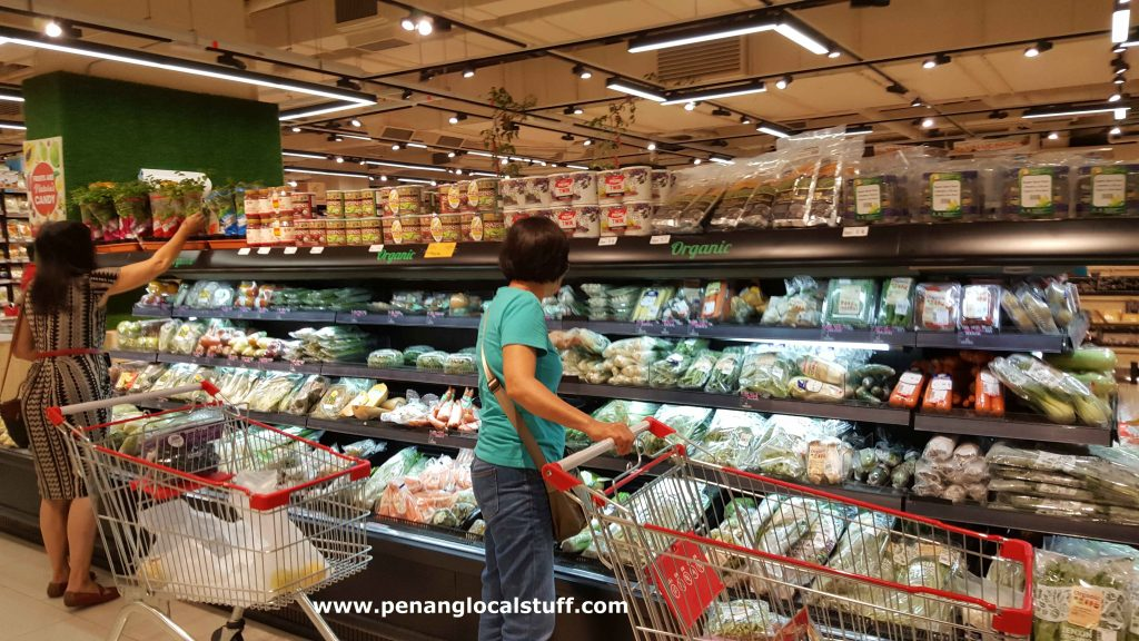 Organic Vegetables At Jaya Grocer Gurney Paragon Mall