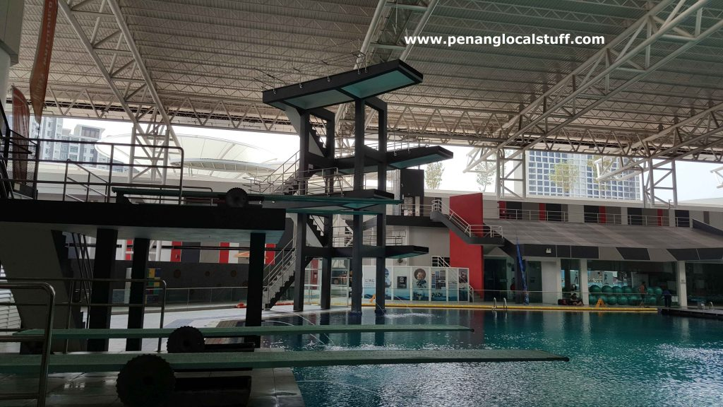 Diving Platform At Setia Spice Aquatic Centre