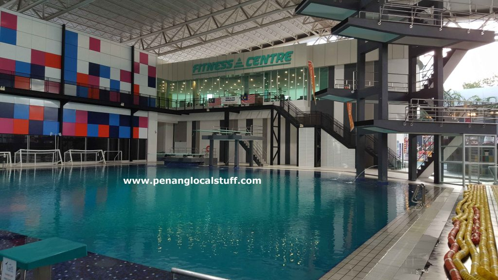 Diving Pool At Setia Spice Aquatic Centre