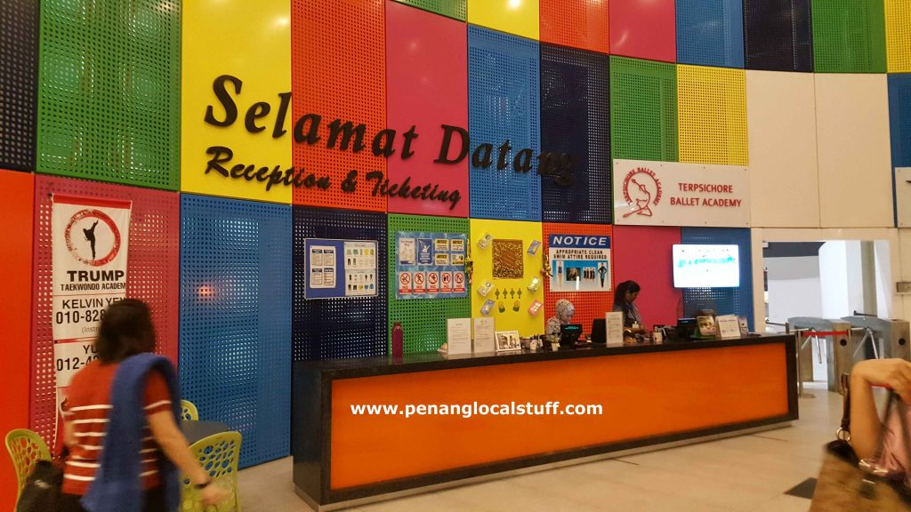 Setia SPICE Aquatic Centre Reception Counter