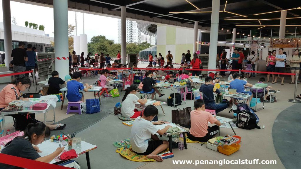 Kwong Wah Yit Poh Colouring Contest
