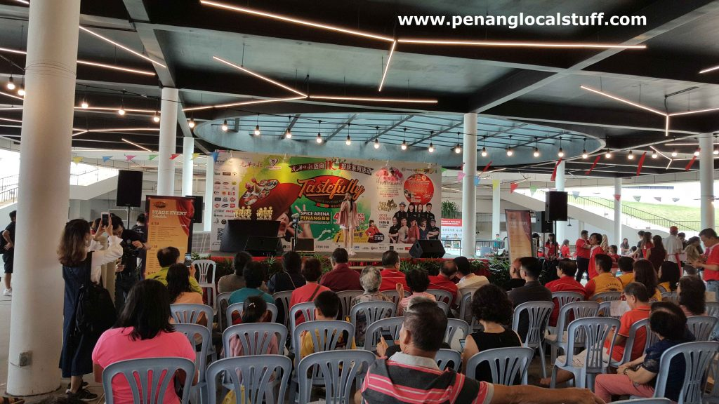 Singing Performance At Tastefully Food And Beverage Expo