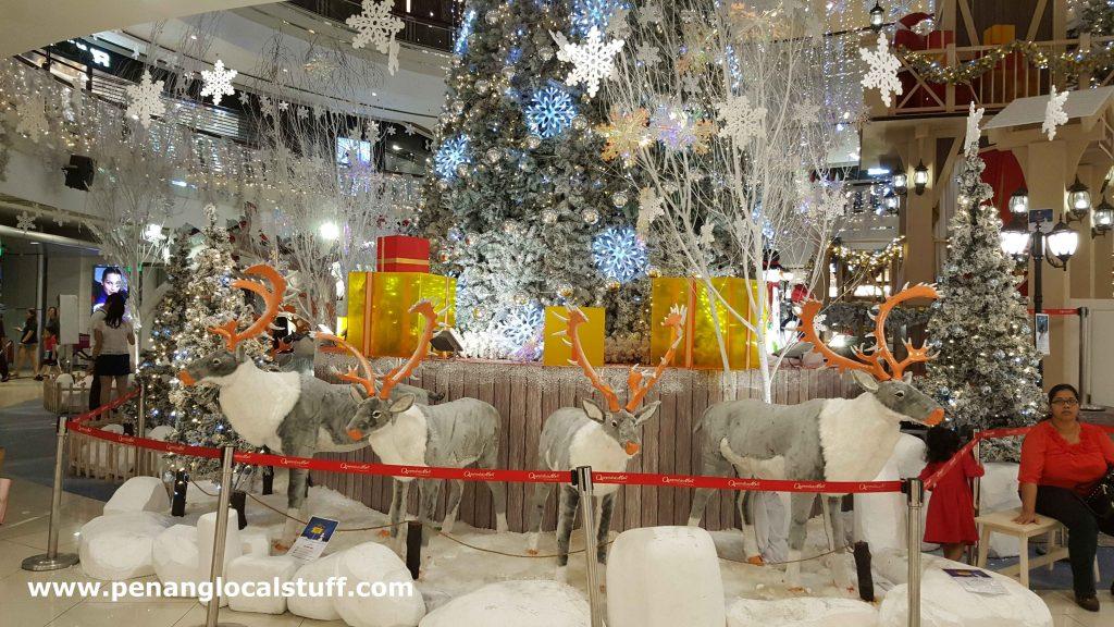A Row Of Reindeers
