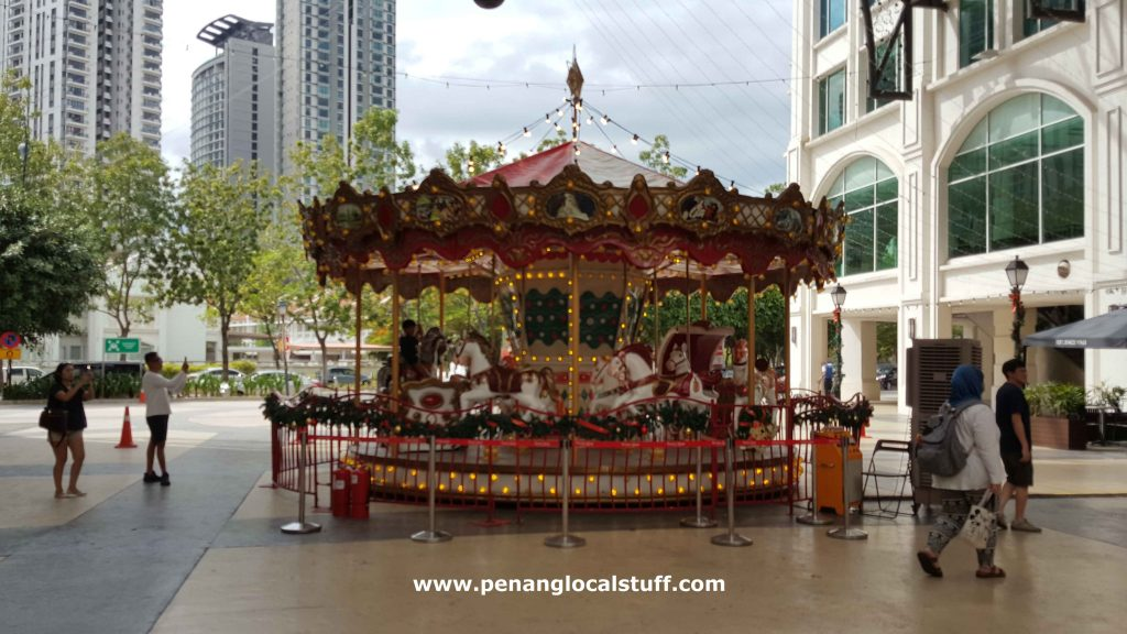 Carousel Ride At Straits Quay