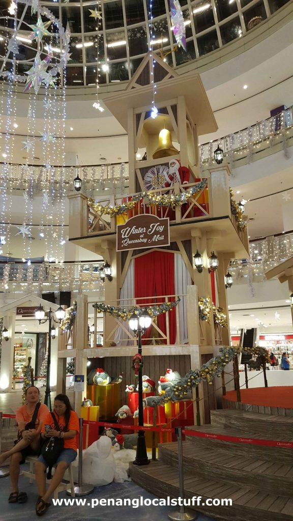 Clock Tower At Queensbay Mall