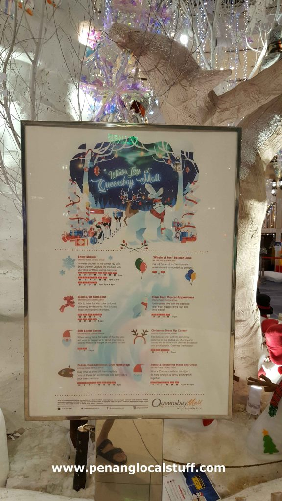 Queensbay Mall Christmas Events