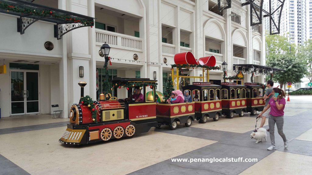 Train Ride At Straits Quay