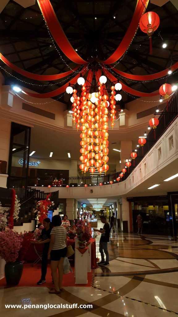 CNY Decorations At Straits Quay Mall
