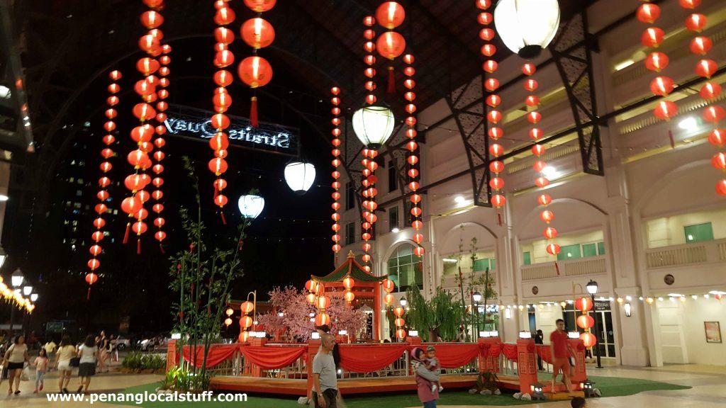Straits Quay CNY Decorations