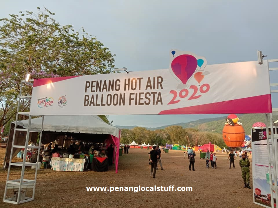 Penang Hot Air Balloon Fiesta 2020
