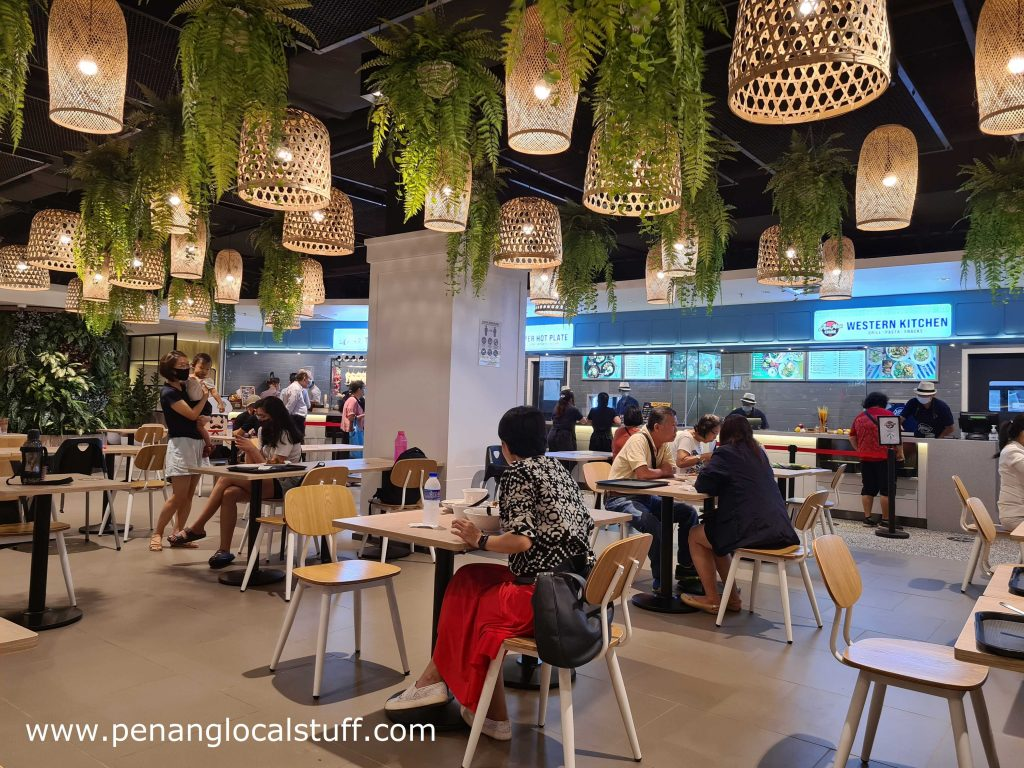 Gurney Food Hall Dining Area