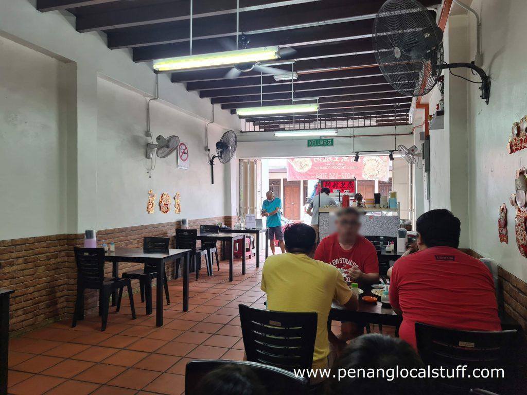 Kafe Yee Sung Kai Chok Dining Area