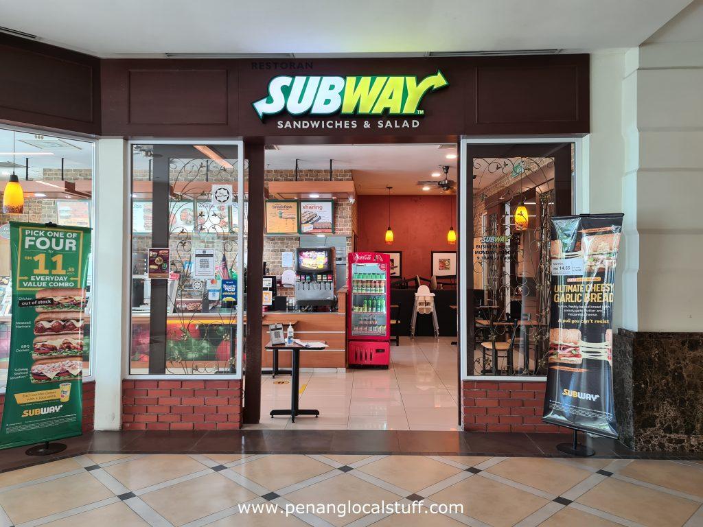 Subway Straits Quay