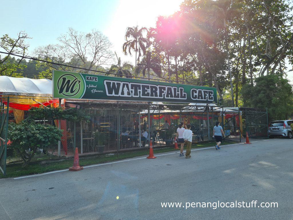 Waterfall Cafe At Penang Botanic Gardens