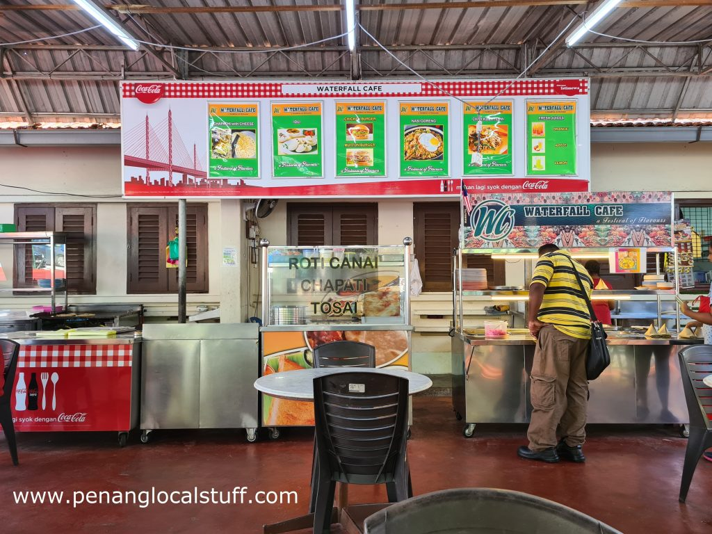 Waterfall Cafe Food Stalls