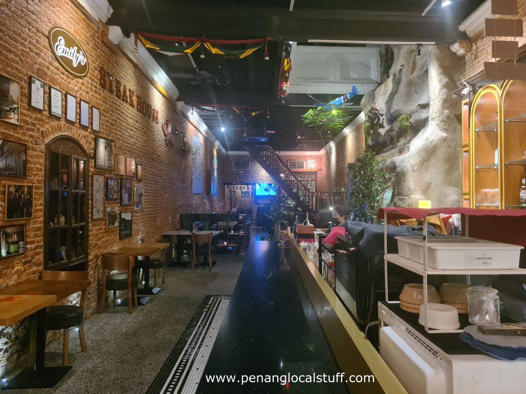Emily's Steakhouse Interior