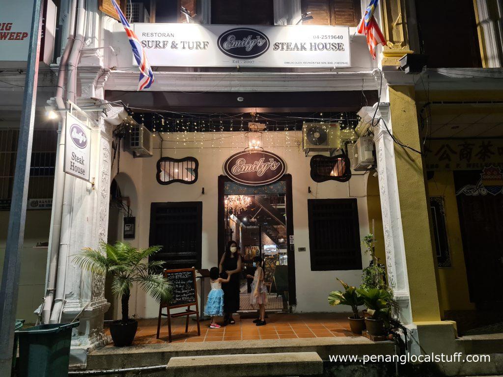 Emily's Steakhouse Penang