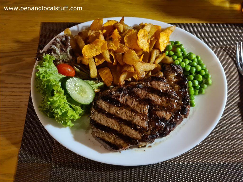 Emily's Steakhouse Sirloin Steak