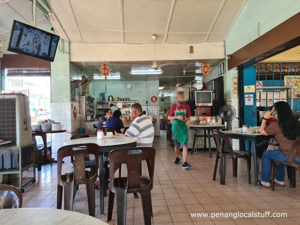 Inside Yit Hooi Cafe