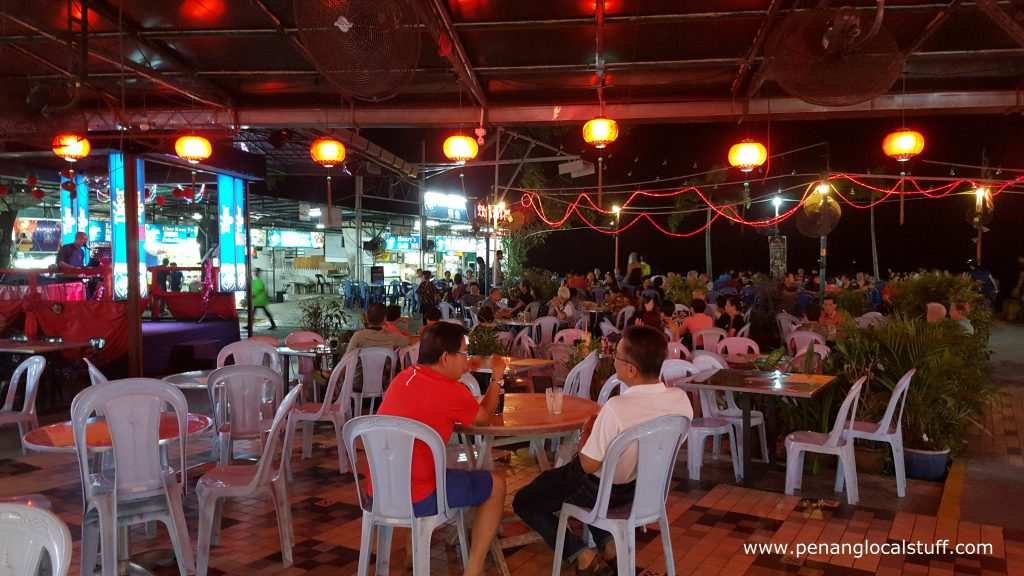 Northam Beach Cafe Dining Area
